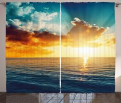 Magical Horizon Panorama Curtain