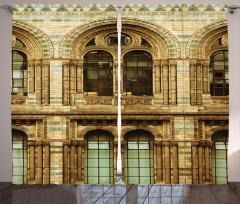European City Building Curtain