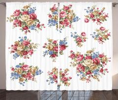 Romance Love Wedding Curtain