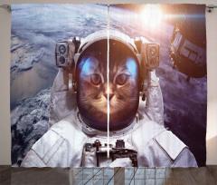 Space Satellite Eclipse Curtain