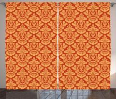 Royal Victorian Damask Curtain