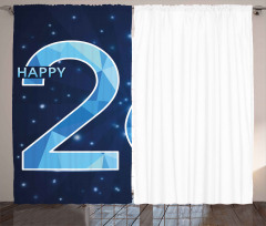 Digital Fractal Wish Curtain