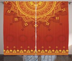 Traditional Saree Curtain