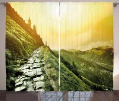 Mountain Valley Curtain
