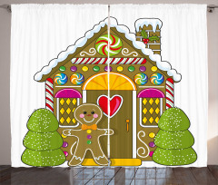 Candy House Curtain
