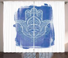 Ornate Mystical Curtain
