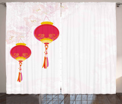 China New Year Curtain