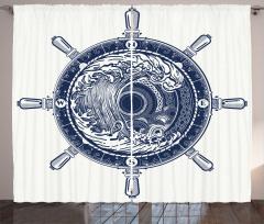 Sea Compass Tsunami Curtain