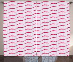 Marine Color Palette Curtain
