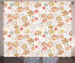 Geometric Polygonal Art Curtain