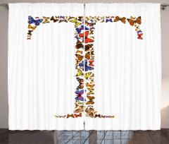Animal Themed Alphabet Curtain