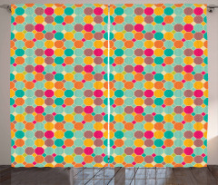 Hexagons and Squares Curtain