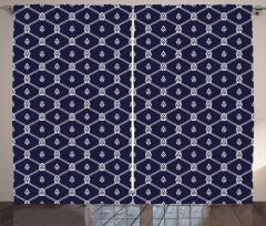 Marine Motifs Aquatic Curtain