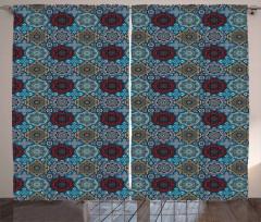 Retro Ethnic Ottoman Curtain
