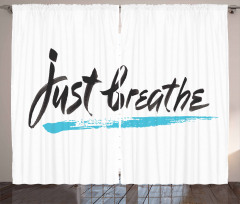 Overcoming Stress Curtain