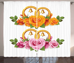 Roses Rings Curtain