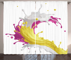 Mixed Drink Splash Curtain