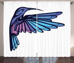 Exotic Hummingbird Curtain