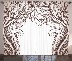 Curving Branches Curtain