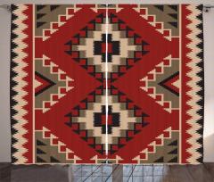Afghan Style Motifs Curtain