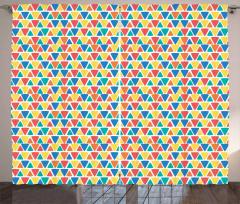 Triangular Ornamentation Curtain