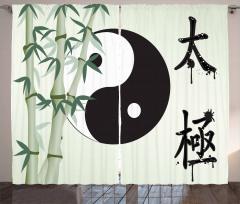 Taiji Zen Oneness Curtain