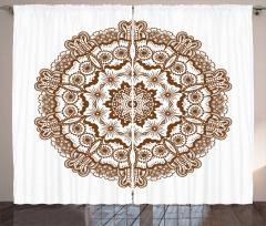 Kaleidoscope Circles Curtain