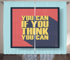You Can Do It Curtain