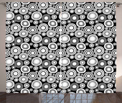 Contemporary Style Artsy Curtain