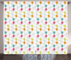 Composition of Rhombuses Curtain