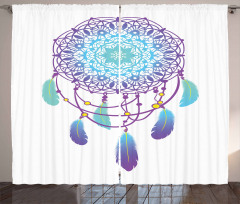 Ethnic Dreamcatcher Curtain