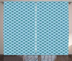 Bohemian Floral Tile Curtain