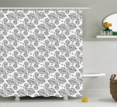 Inspired Flowers Shower Curtain