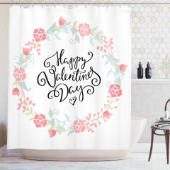 Buds Roses Tulip Shower Curtain