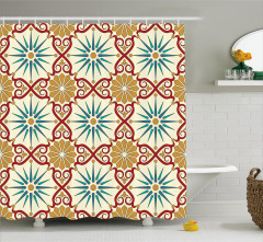 Sacred Geometric Forms Shower Curtain