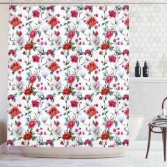 Romantic Magnolia Nature Shower Curtain