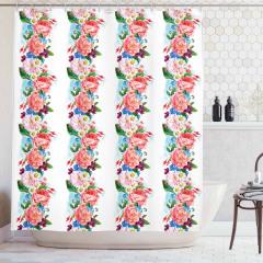 Daisy Wild Nature Garden Shower Curtain
