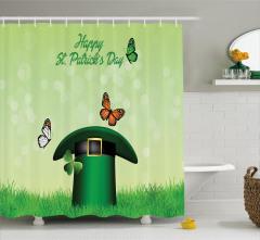 Irish Hat Charm Shower Curtain