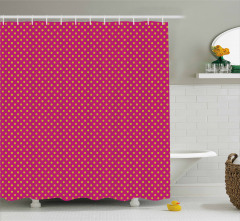 Feminine Nostalgic Design Shower Curtain