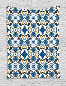 Portuguese Tilework Tapestry