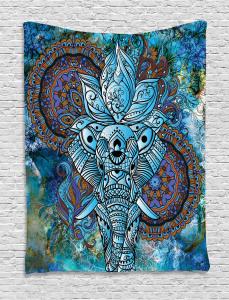Third Eye Symbol Tapestry