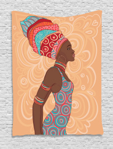 Ethnic Tribal Native Trend Tapestry