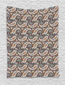 Vintage Oriental Ethnic Tapestry