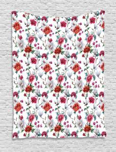 Romantic Magnolia Nature Tapestry