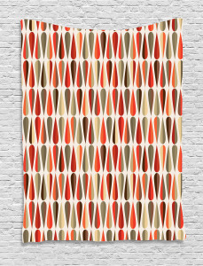 70s Retro Style Tapestry