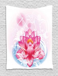 Mandala Yoga Lotus Tapestry