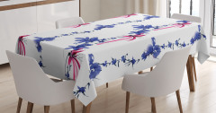 Native Asian Effect Tablecloth