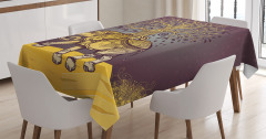 Asian Elephant in Nature Tablecloth