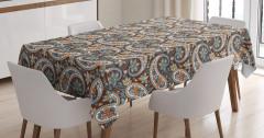 Vintage Oriental Ethnic Tablecloth