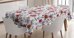 Romantic Magnolia Nature Tablecloth